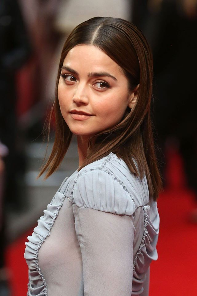 Jenna Coleman | 'Me Before You' European Film Première | Photo by Fred Duval