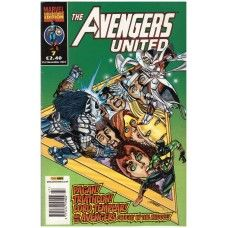 The Avengers United #7 from Panini Comics UK. 21st November 2001 issue. In fine/6.0 condition. Bagged and boarded. £2.00
