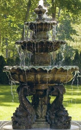 Fountains. Gothic GardenVictorian ...