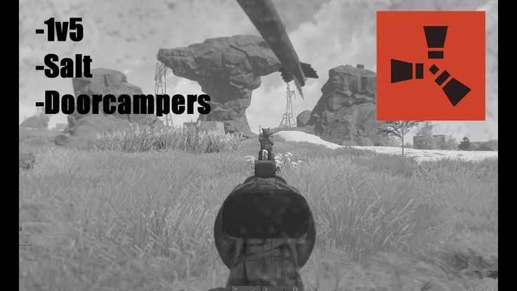 An Extremely Intense 1v5 and Salty Doorcampers... - RUST