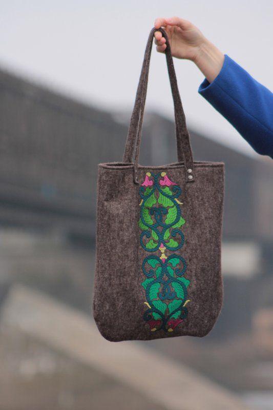 Emerald City Bag (proj. Lilu Cecylia Manicka), do kupienia w DecoBazaar.com