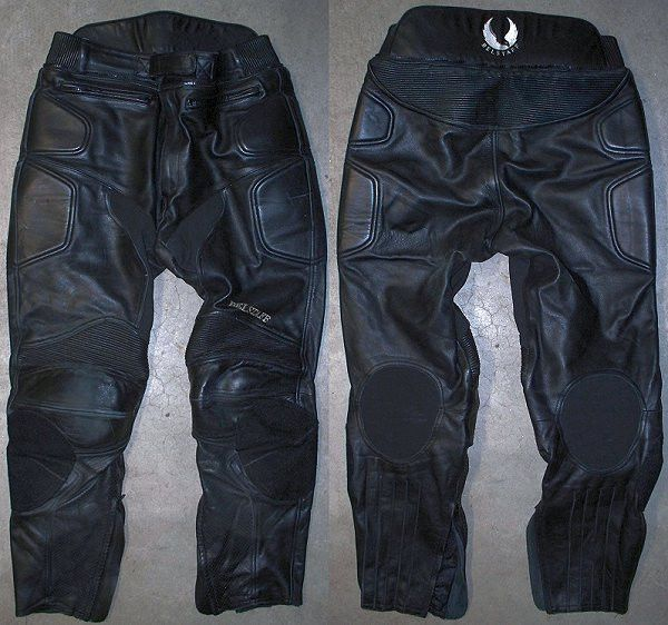 Men's BELSTAFF Leather Motorcycle Touring pants