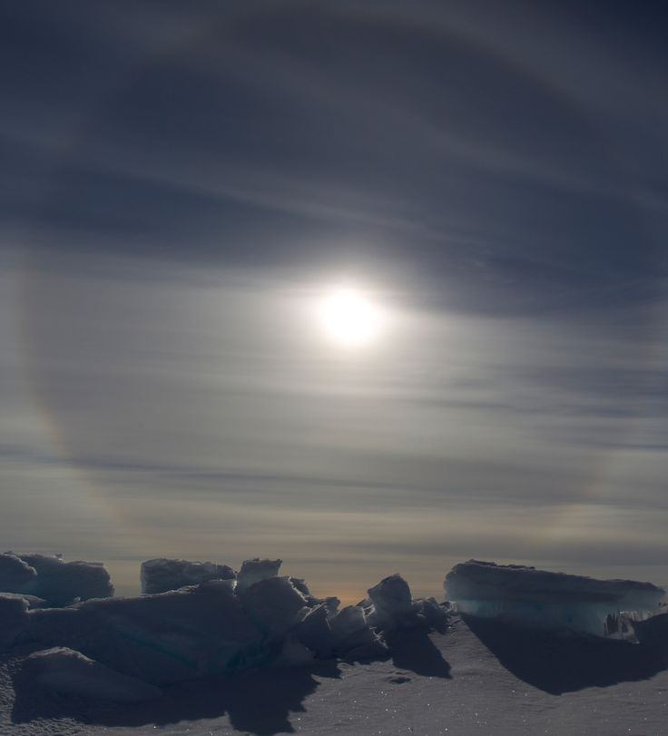 https://flic.kr/p/xfbAkn | Canada | Canada. Ice halo at Pond Inlet.  For licensing see: www.gettyimages.co.uk/detail/photo/ice-halo-near-pond-inl...