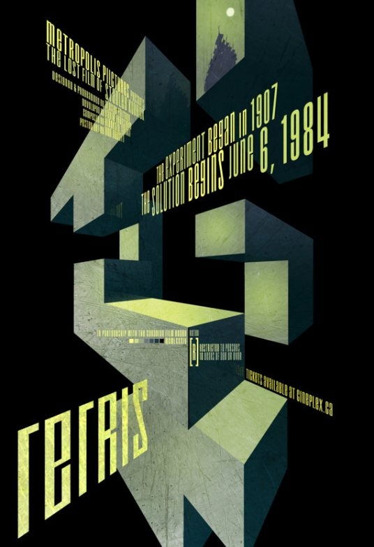 Minimalist videogame posters