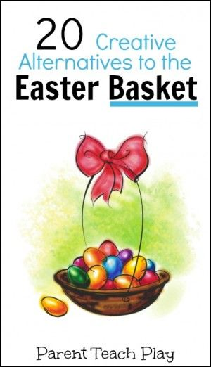 218 best easter images on pinterest easter crafts easter ideas easter basket alternatives some fun theme ideas negle Image collections