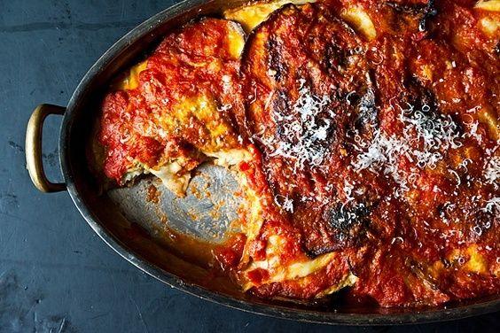 Eggplant Parmesan, a recipe on Food52. This woman knows eggplant. Best Eggplant Parm recipe I've ever seen!