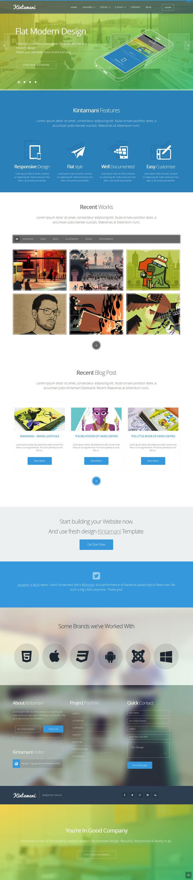 Kintamani - Responsive Multi-Purpose Joomla Theme http://themeforest.net/item/kintamani-responsive-multipurpose-joomla-theme/5855014?ref=wpaw #web #design #joomla