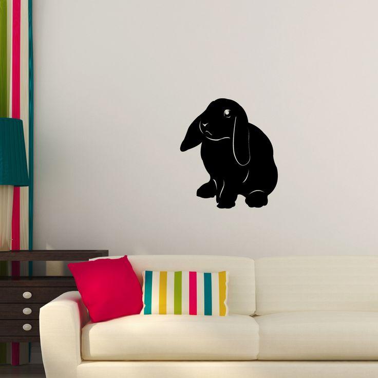 Bunny Rabbit Wall Decal Sticker 69 | Wall decal sticker ...