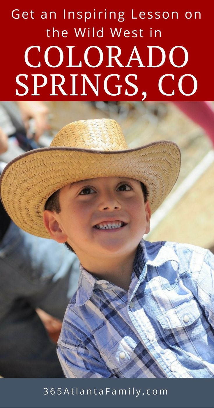 """Get an inspiring lesson on the wild west in Colorado Springs, Colorado! Here are several inspiring opportunities to learn about the Wild West in Colorado Springs when mining gold and silver was the """"rush"""" and cowboys roamed the land!"""