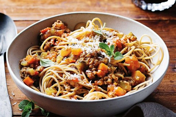 Sneak vegies into the kids' diet the easy way! They'll love this bolognaise.
