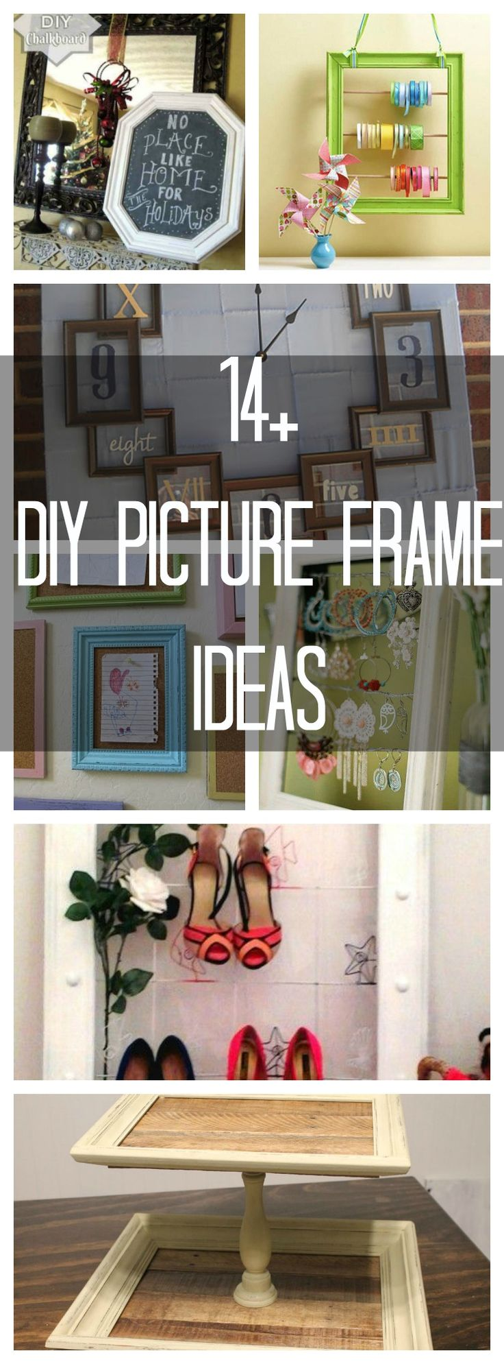 14+ Ideas for Old Picture Frames