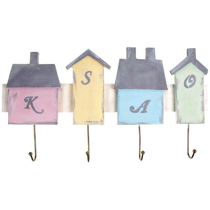 Chalky-väreillä maalattu talonaulakko. Tarvikkeet ja ideat Sinellistä!