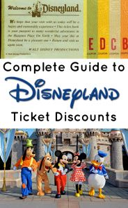 Finding Disneyland Discount Tickets: Getting Them Cheap   Mickey Visit