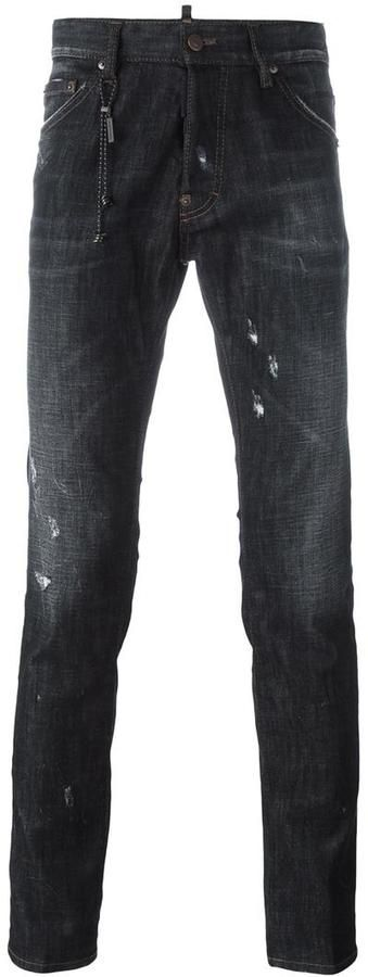 Dsquared2 'Cool Guy' lightly distressed jeans