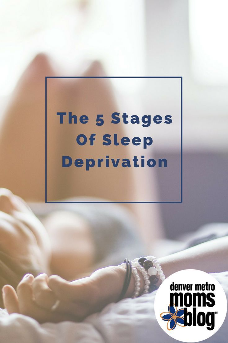 Sleep deprivation, to some degree, can't be avoided when you have a baby. Recently I thought about how the different levels of sleep deprivation have affected my life. Immediately, the 5 stages of grief came to mind...