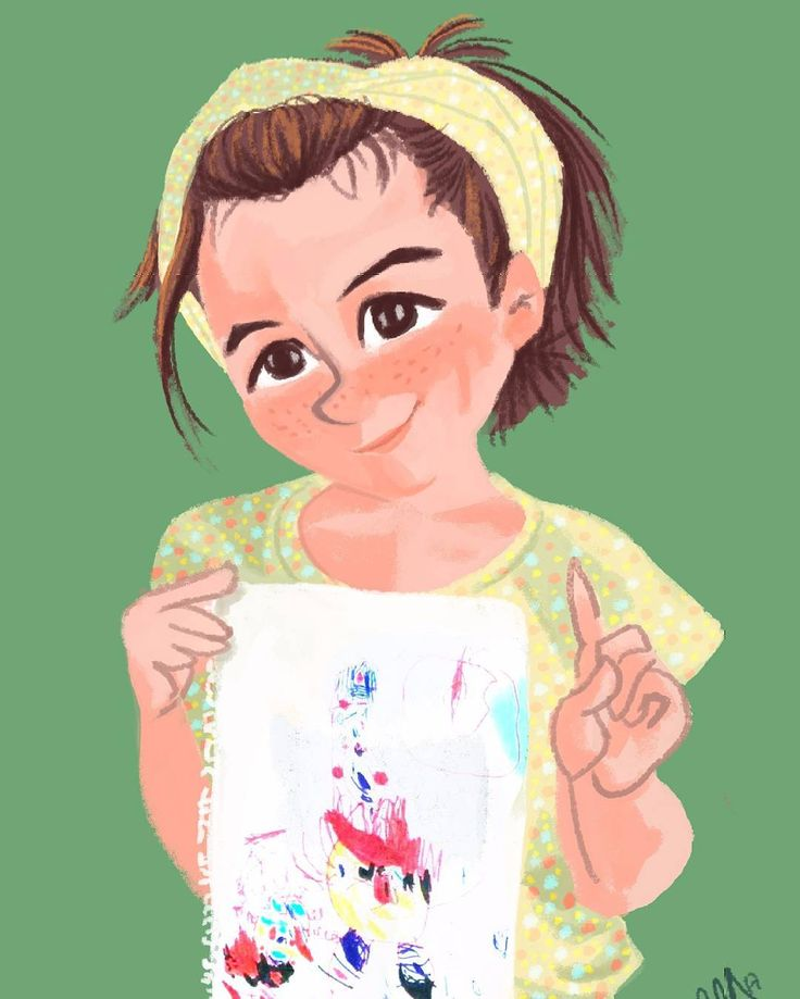 Clara portrait is finished!!! El retrato de Clara está terminado!  #illustration #ilustración #ilustrador #illustrator #art #artist #portrait #retrato #girl #niña #kid #cute #drawing #dibujo #love #dailysketch #workinprogress #painting #digital #Photoshop #cc #commission #encargo