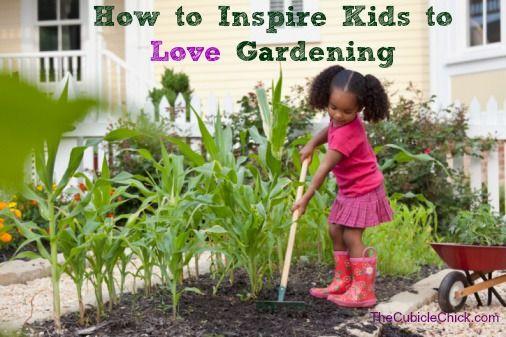 How to Inspire Kids to Love Gardening