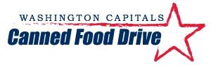 I am a proud supporter of the Washington Capitals Canned Food Drive.