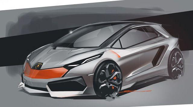Lamborghini Hatchback Concept By Marcell Sebestyen Future Car Concepts Pinterest