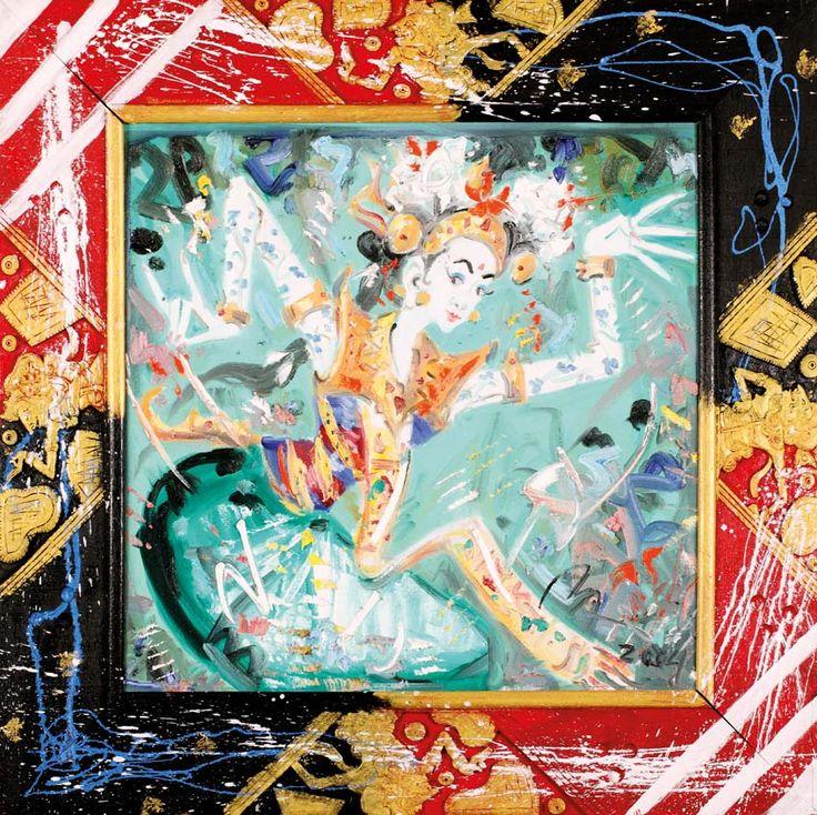Nyoman Gunarsa (Klungkung, 1944) - Legong Hijau, 2004.