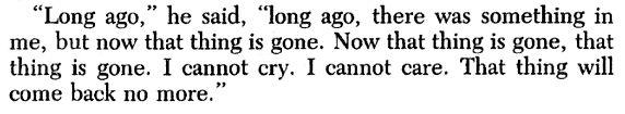 "F. Scott Fitzgerald, ""Winter Dreams"""
