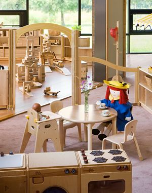 sample classrooms- Community Playthings