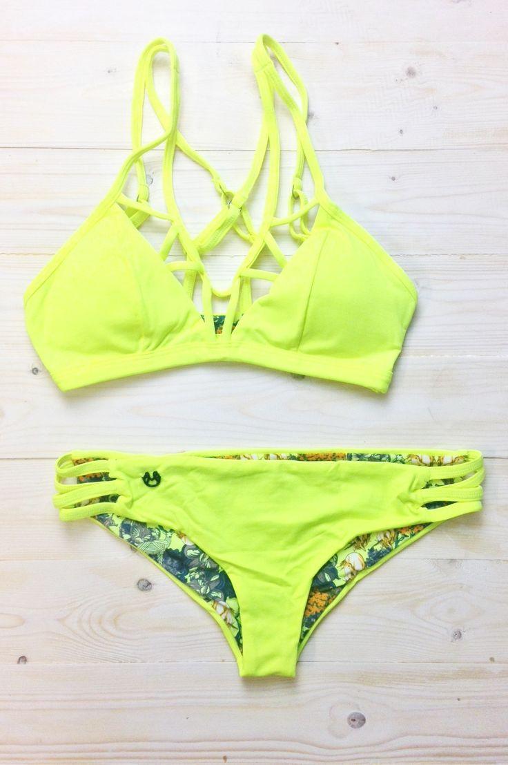 Banana Bindweed Maaji Swimsuit Set