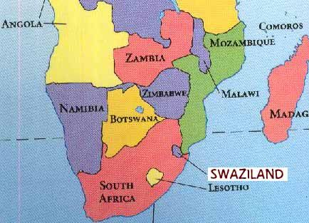 Best AfricaSwaziland Images On Pinterest Africa South - Swaziland map