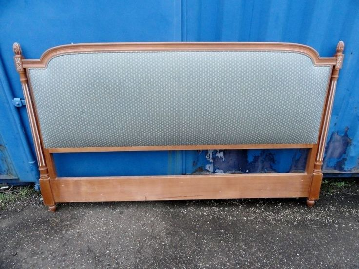 Wood Superking Headboard French £100