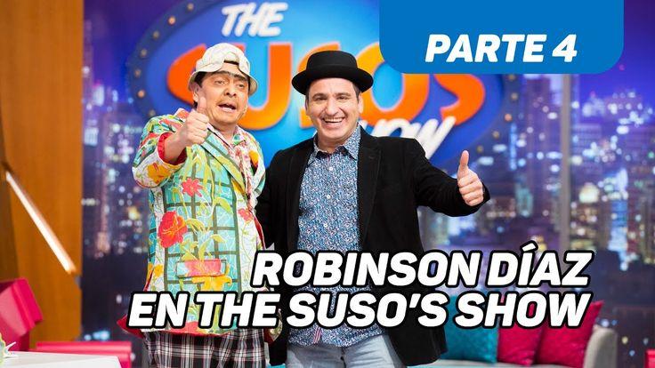 El ídolo de Robinson - Robinson Díaz en The Suso's Show - Caracol TV - P...