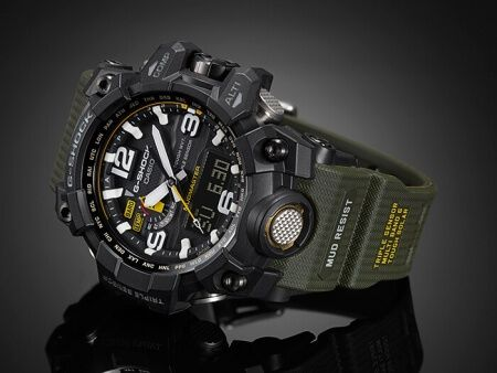 Review G-Shock GWG-1000-1A3JFmodel have introduced a latest modern of watches which is also known as 'MUD MASTER'.