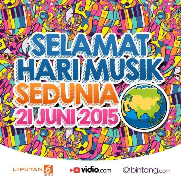 International Music Day Bintang.com Indonesia