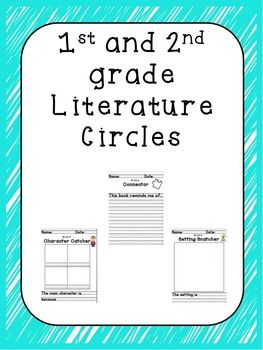 "This compilation of work is for introducing literature circles to the primary grades.  The folder contains 2 different files.   The first file contains colored cards that describe each of the jobs and include ""I can"" statements to aid the students in their work."