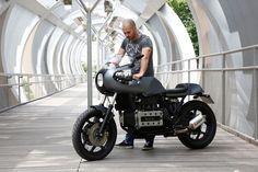 BMW K100 Cafe Racer by Nitro Cycles