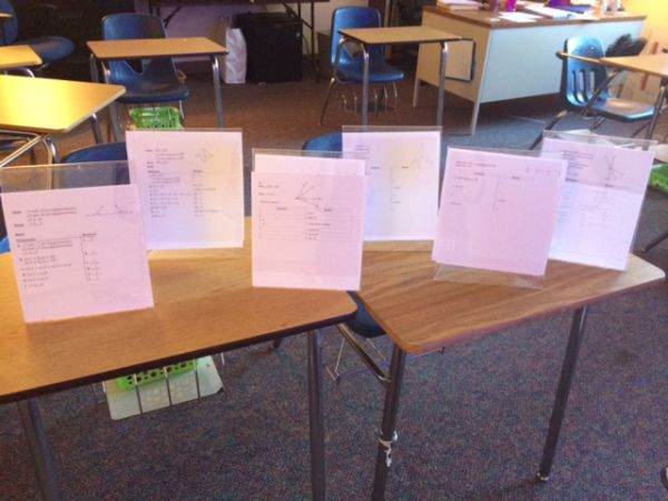 After a smashingly successful first day doing proofs in Geometry I was excited to prepare for day two! Our Geometry classes are not tracked (leveled). On day 1 I noticed that I had a wide range o…
