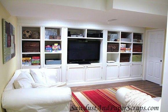 basement entertainment center gathering space pinterest tvs