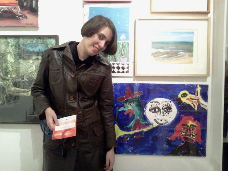 Ana Clara Diquattro EGGO ART 2013 CENTRO CULTURAL RECOLETA GALERIA LAURA HABER.