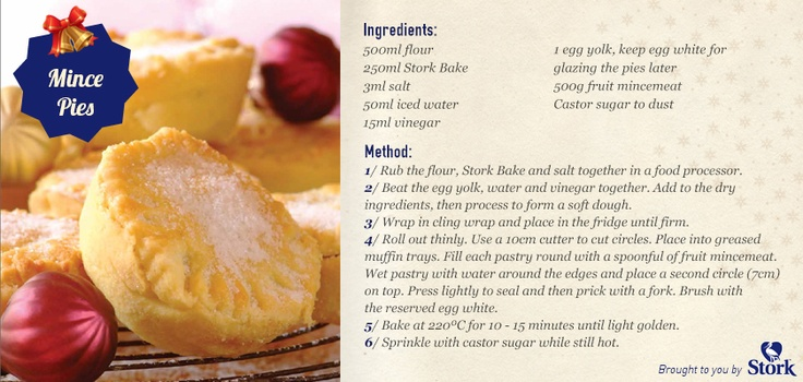 Mince pies are always a favourite! Best you start stocking up for the holidays! #recipe