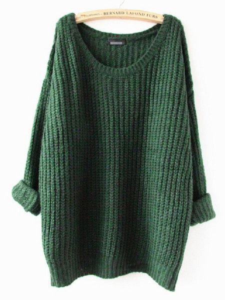 Knit sweater with oversized look. Made with a blend of cotton, wool & cashmere, a little over 3/4 quarter sleeves. Onesize fits most, fits best on XSmall, Small, Medium. Measures: Bust 41inches, Lengt