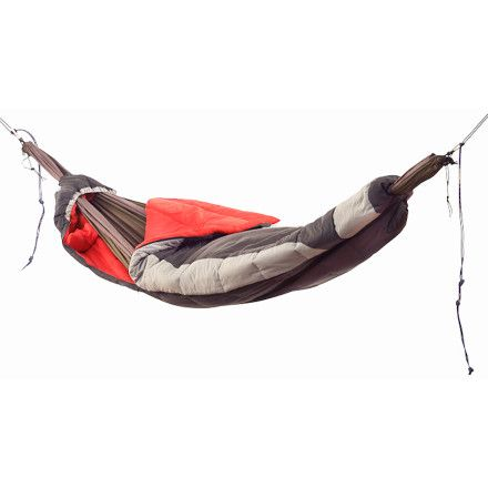 Grand TrunkHammock Compatible Sleeping Bag (I swear I thought of this and somebody just beat me to it)