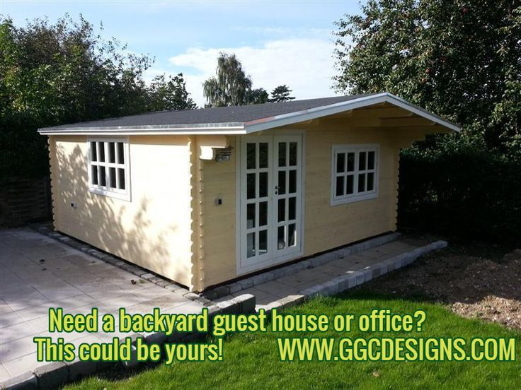 Need A Backyard Guest House Or Office? This Could Be Yours!