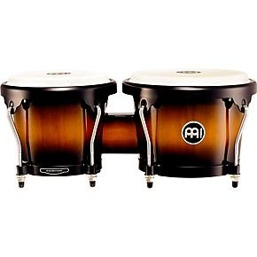 Meinl Headliner Series Wood Bongos Vintage Sunburst | Guitar Center