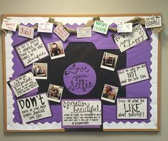 Love Your Selfie Bulletin Board (self love)