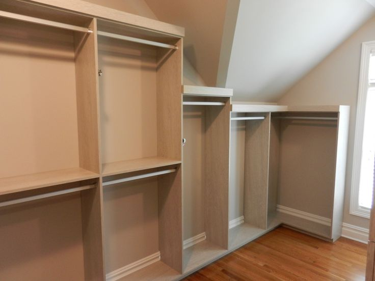 Sloped Or Angled Ceilings And Unique Storage Solutions · Angled CeilingsCalifornia  ClosetsCreative ...