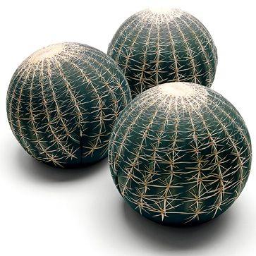 Pouf tatino Tatoo Cactus Cerruti Baleri - Angolo Design.
