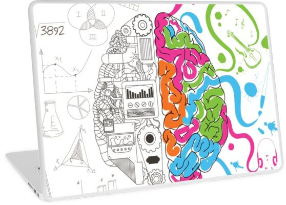 Brain Creativity Illustration by Gordon White | Creative Brain Chemistry Macbook Air 11 Laptop Skin Available @redbubble @redbubblecreate  ---------------------------  #redbubble #sticker #brain #creative #creativity #chemistry #nerd #geek #cute #adorable #laptop #skin #laptopskin #macbook  ---------------------------  http://www.redbubble.com/people/blackbox23/works/23716610-creative-brain-chemistry?asc=u&p=laptop-skin&rel=carousel
