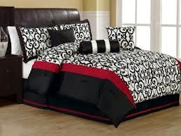 Bedroom Ideas Red Black And White 18 best for the home images on pinterest | comforters bed, bed