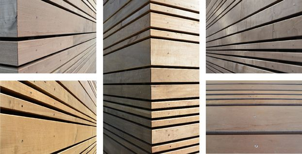die besten  holzfassade ideen auf pinterest betonholz