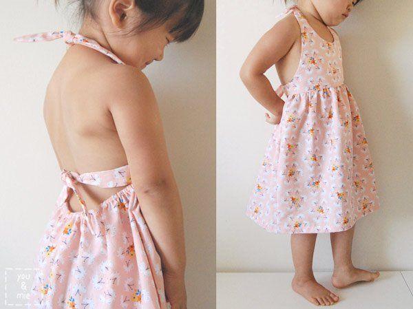 Cousez la robe d'été pour votre petite fille | tutoriels de couture | Blog de Petit Citron