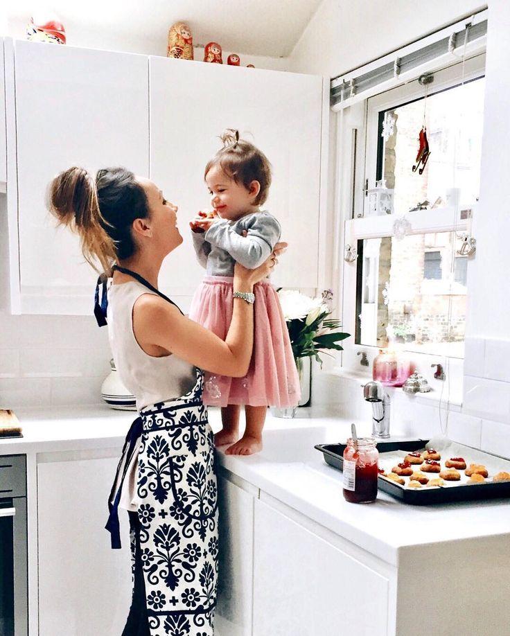 Masha and Baby V wear MONSOON